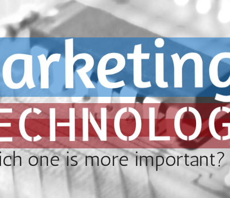 Marketing or Technology: Which One Is More Important?