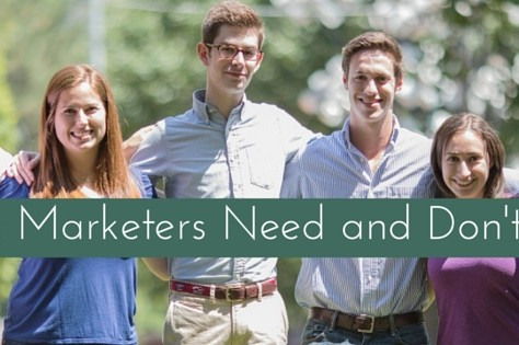 10 Skills Marketers Need And Don't Have
