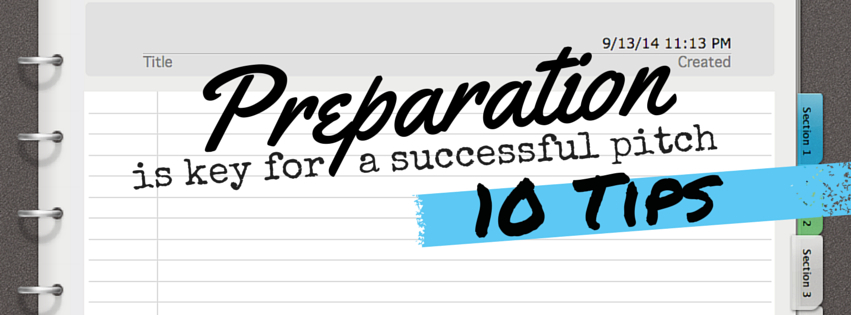 Preparation is key