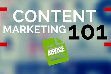 Content Marketing 101: Advice