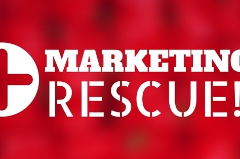 Help!  My Marketing Needs To Be Rescued