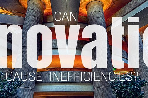 Can Innovation Cause Inefficiencies?