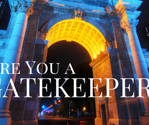 Are You A Marketing GateKeeper?