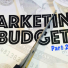 Marketing Budget - 2.0